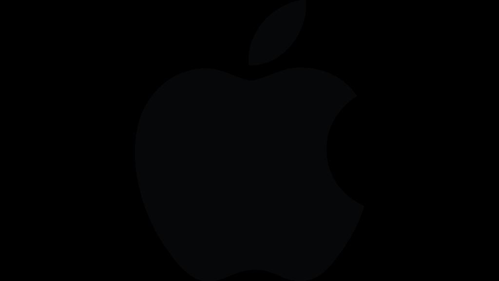 El gran logotipo de Apple